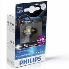 C5W PHILIPS LED 6000K 30mm автолампы Philips